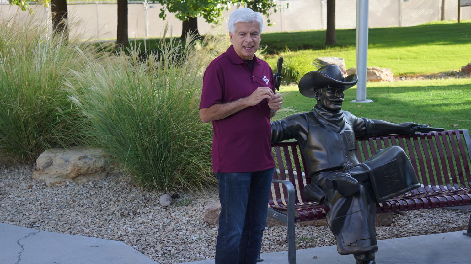 NMSU chancellor Dan Arvizu is confident the recent budgetary shortfall can be a way more the school to better manage its resources.