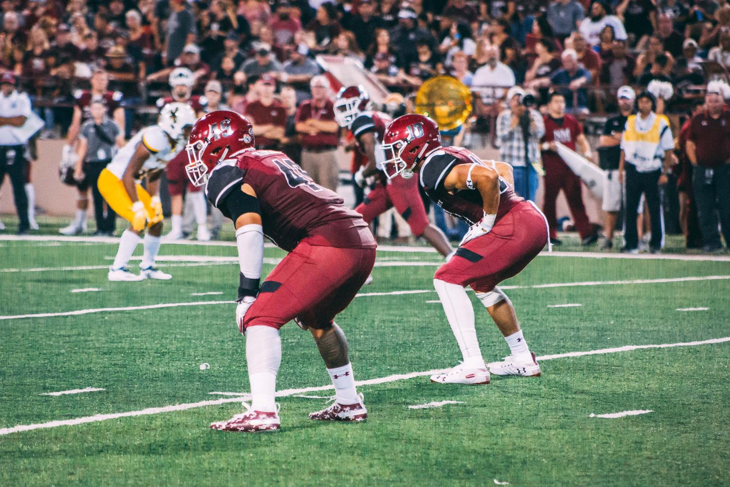 NM State hosts Alcorn State this afternoon for the team's 2018 home finale.
