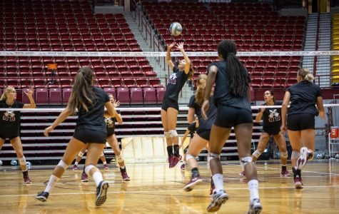 NM State volleyball prepares to open the 2018 season Friday
