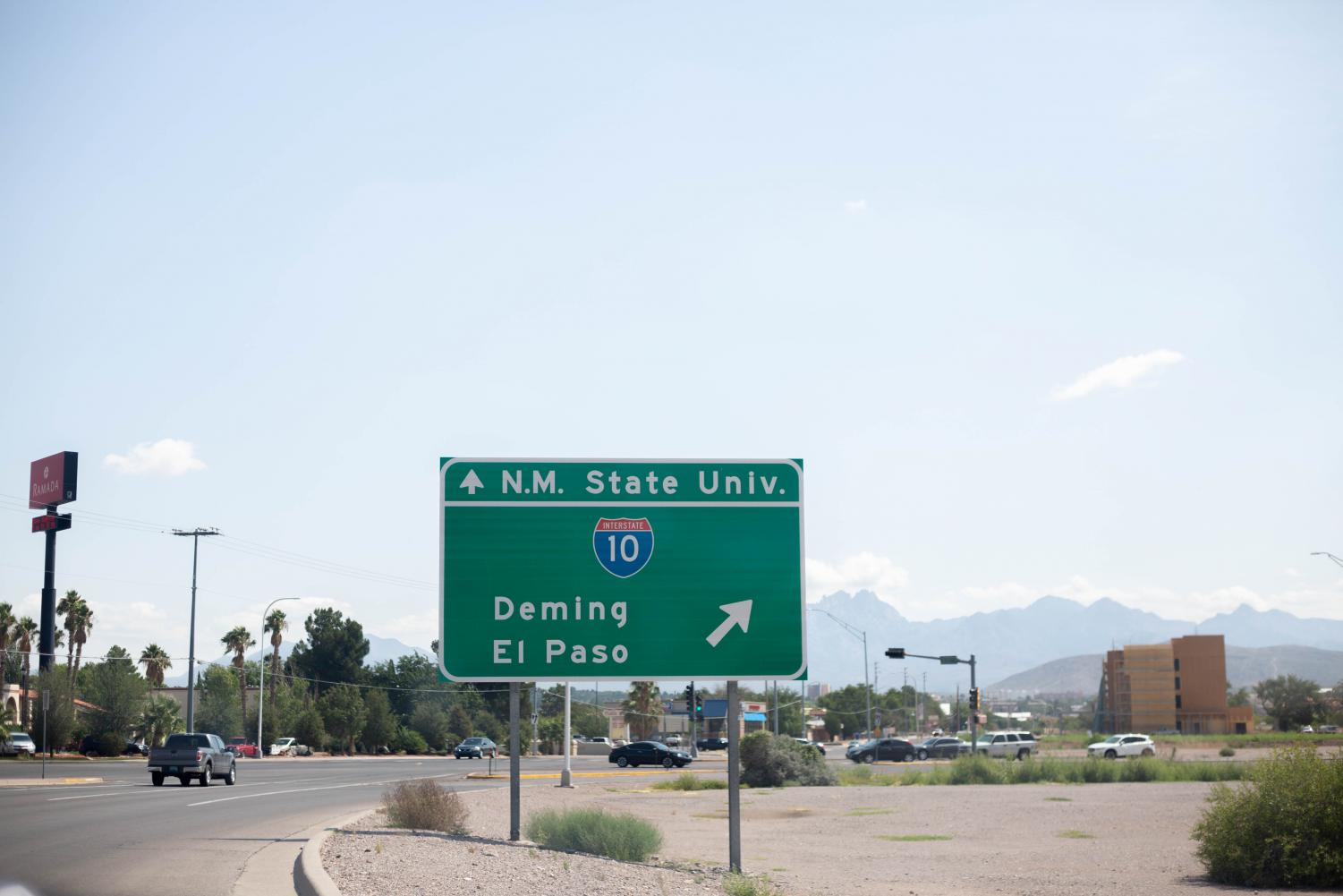 Many NMSU students commute from El Paso, Texas, 43 miles away.
