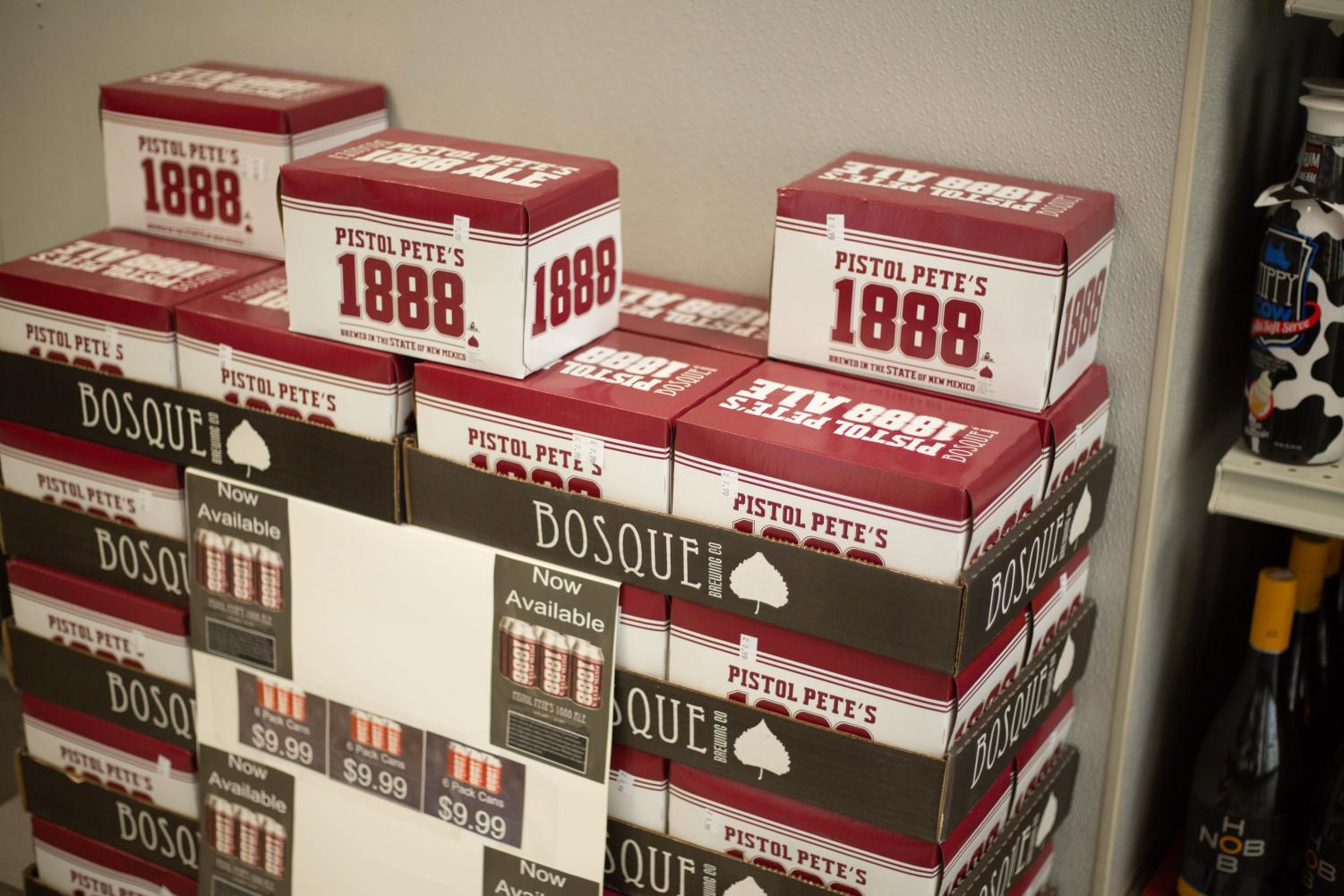 Pete's 1888 Ale is available at Pic Quik, Toucan Market, Celebrate and other locations in Las Cruces.