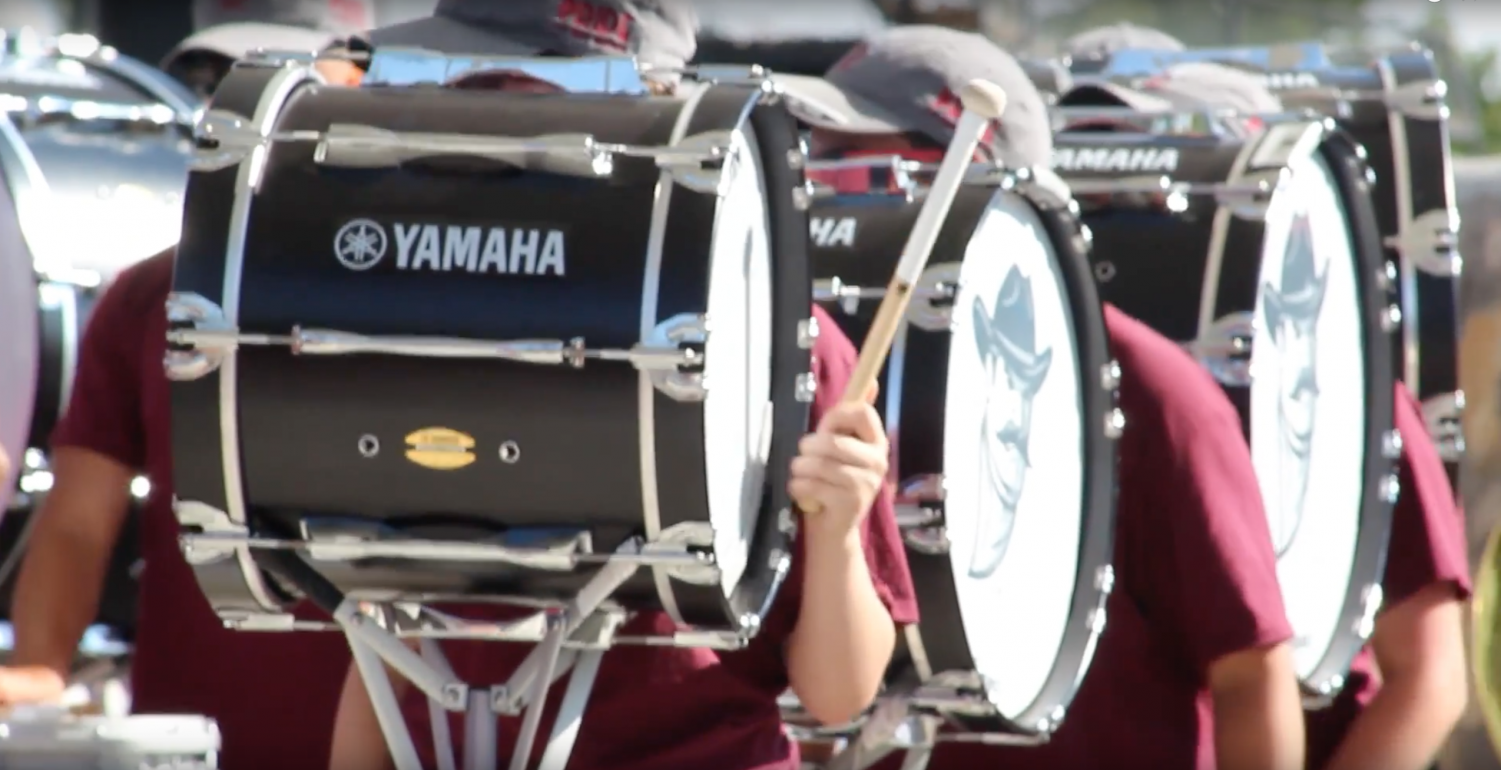 NMSU's Pride Marching Band is one of the bands celebrating 100 years.