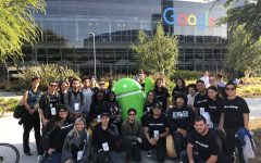 NMSU students spend the fall semester at google, courtesy of Arianna Martinez.