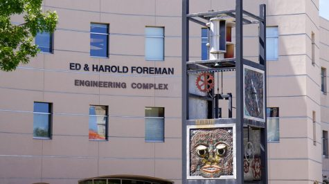 Ed and Harold Foreman Engineering Complex at the NMSU main campus.