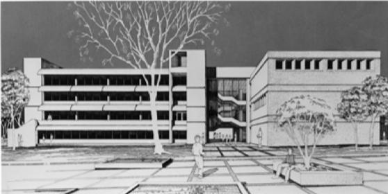 Architect%E2%80%99s+rendering.+Photo+courtesy+of+University+Archives.