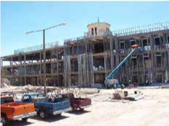 Health+and+Social+Sciences+building+under+construction+in+2003.
