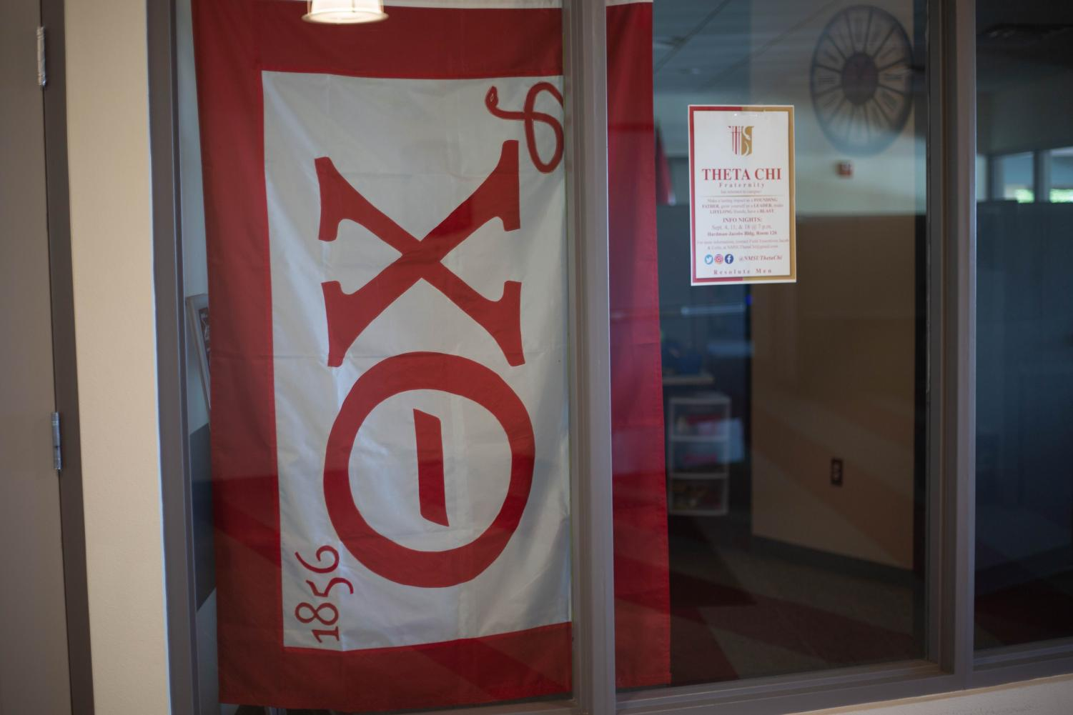 The Theta Chi was previously on the NMSU campus from 1948-1995.