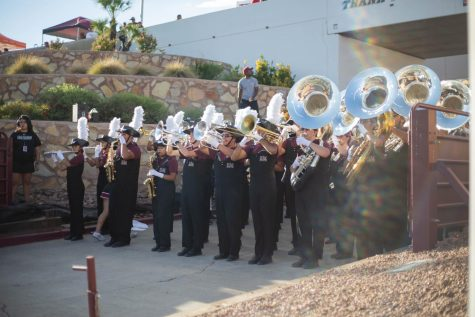 The NMSU music department adjusts to difficult, but possible online education.