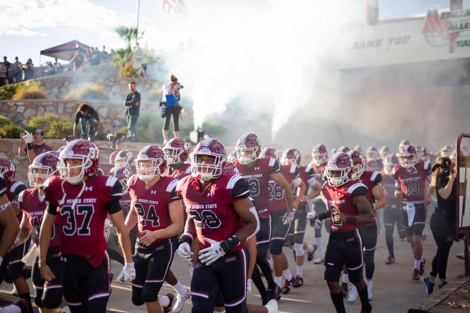 There are just less than two hours until New Mexico State take on the UTEP Miners in the 96th ever Battle of I-10.