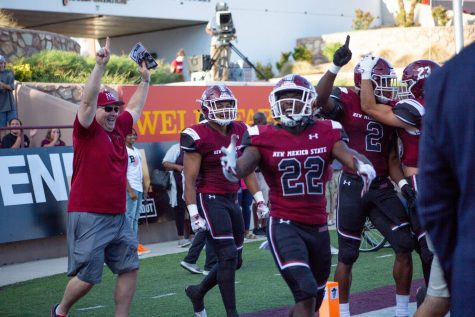 NMSU crushes rival UNM for second time this season