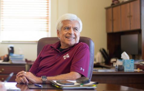 Chancellor Arvizu gives NMSU athletic department vote of confidence