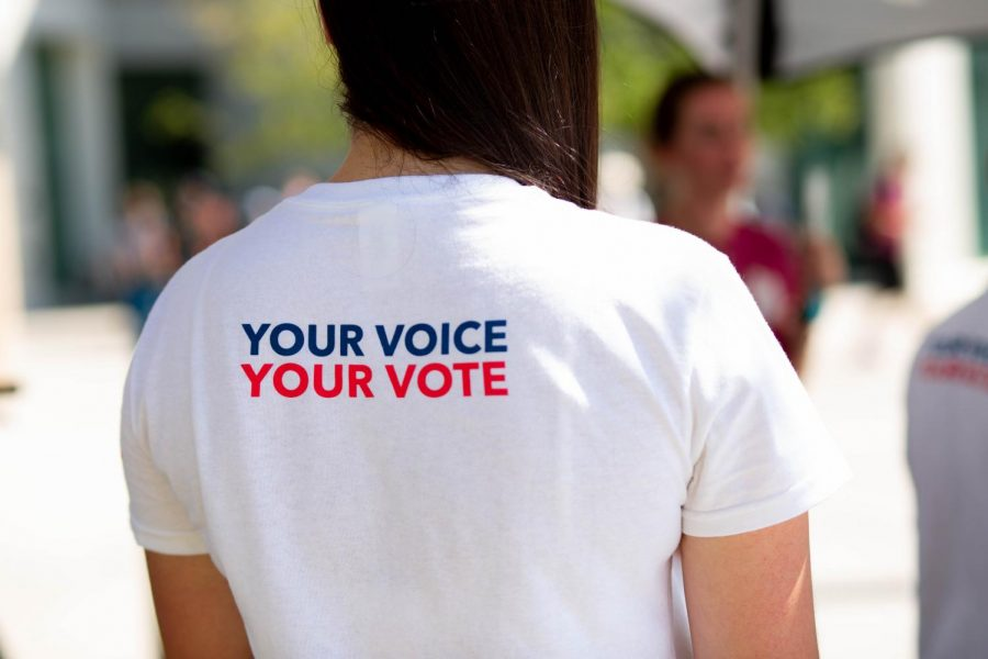 ASNMSU hosted several events in honor of National Voter Registration Day on Tuesday in preparation for the upcoming November elections.