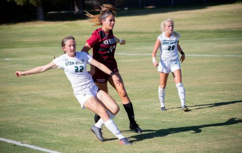 Aggies open up WAC play with a loss to Utah Valley