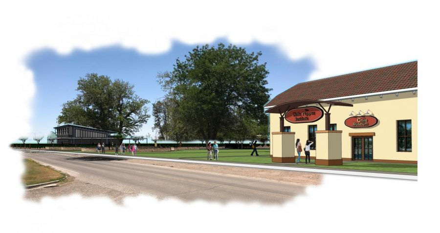 Heritage Farm Sketch, courtesy of NMSU university architect, Heather Watenpaugh.