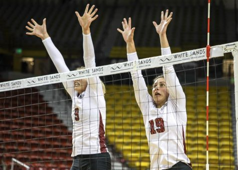 NM State volleyball defeats Kansas City, keeps hope of regular season title alive