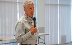 Gary Johnson visits NMSU