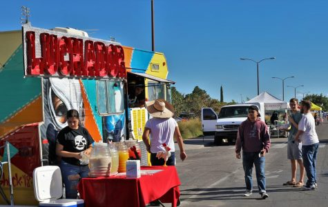 Peek of Las Cruces Street Fair host to many local businesses