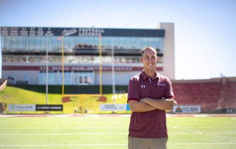 From Pistol Pete to athletic department employee: DJ Downs' career at NMSU comes full circle