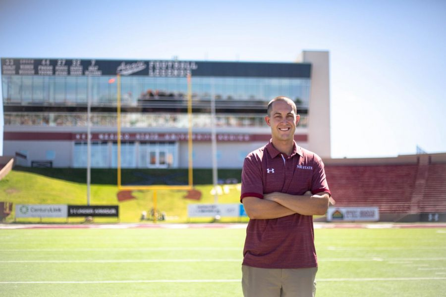 As+DJ+Downs+leaves+for+the+Phoenix+Suns%2C+he+will+remained+beloved+by+Aggie+fans+for+his+time+as+Pistol+Pete+and+Assistant+AD+of+Marketing+and+Promotions.+
