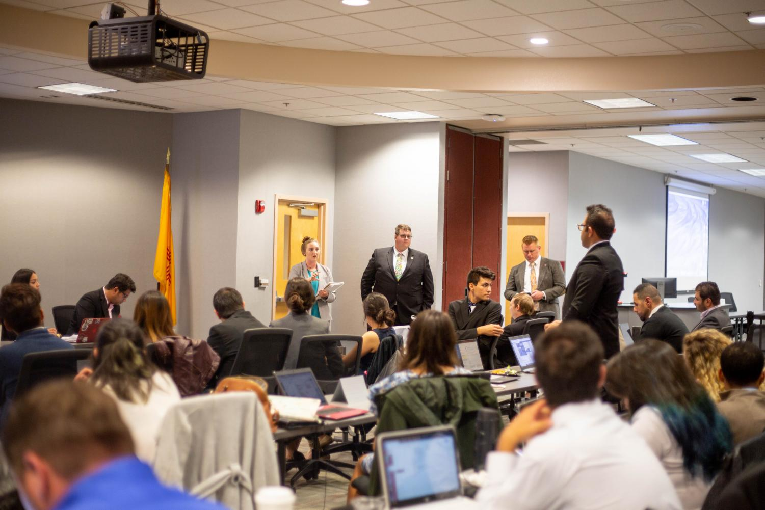 Graduate students ask administration for more transparency with a resolution introduced at an ASNMSU meeting Nov. 1.