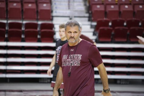 Practice still on for NM State athletics after postponement of fall sports