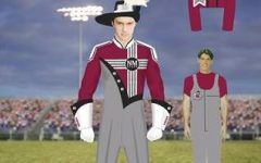 NMSU Pride band sports new uniforms