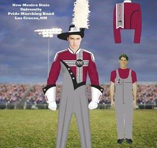 NMSU Pride band sports new uniforms