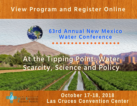 New Mexico Water Resources Research Institute hosted the 63rd annual NM Water Conference at the Las Cruces Convention Center Wednesday.