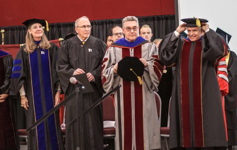 Floros inaugurated as 28th President, Arvizu as second Chancellor of NMSU