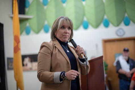 Gov. Michelle Lujan Grisham taken speaking at convention Nov. 5 2018