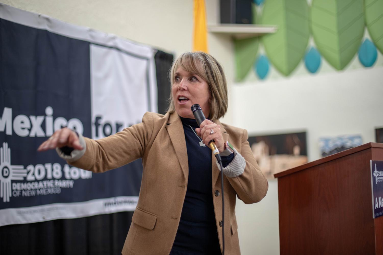 Gubernatorial candidate Michelle Lujan Grisham
