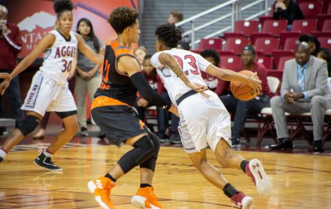 NM State women's basketball gets back on track, blows out NNMC 101-51
