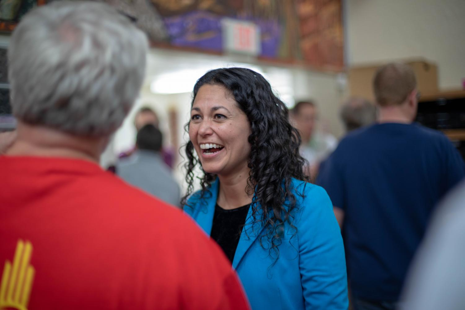 Xochitl Torres Small will represent the 2nd Congressional District in the House of Representatives