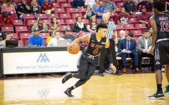 NM State men's basketball opens season with blowout win over North Dakota State