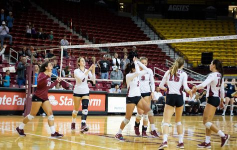 NM State volleyball continues to shine bright as season approaches home stretch
