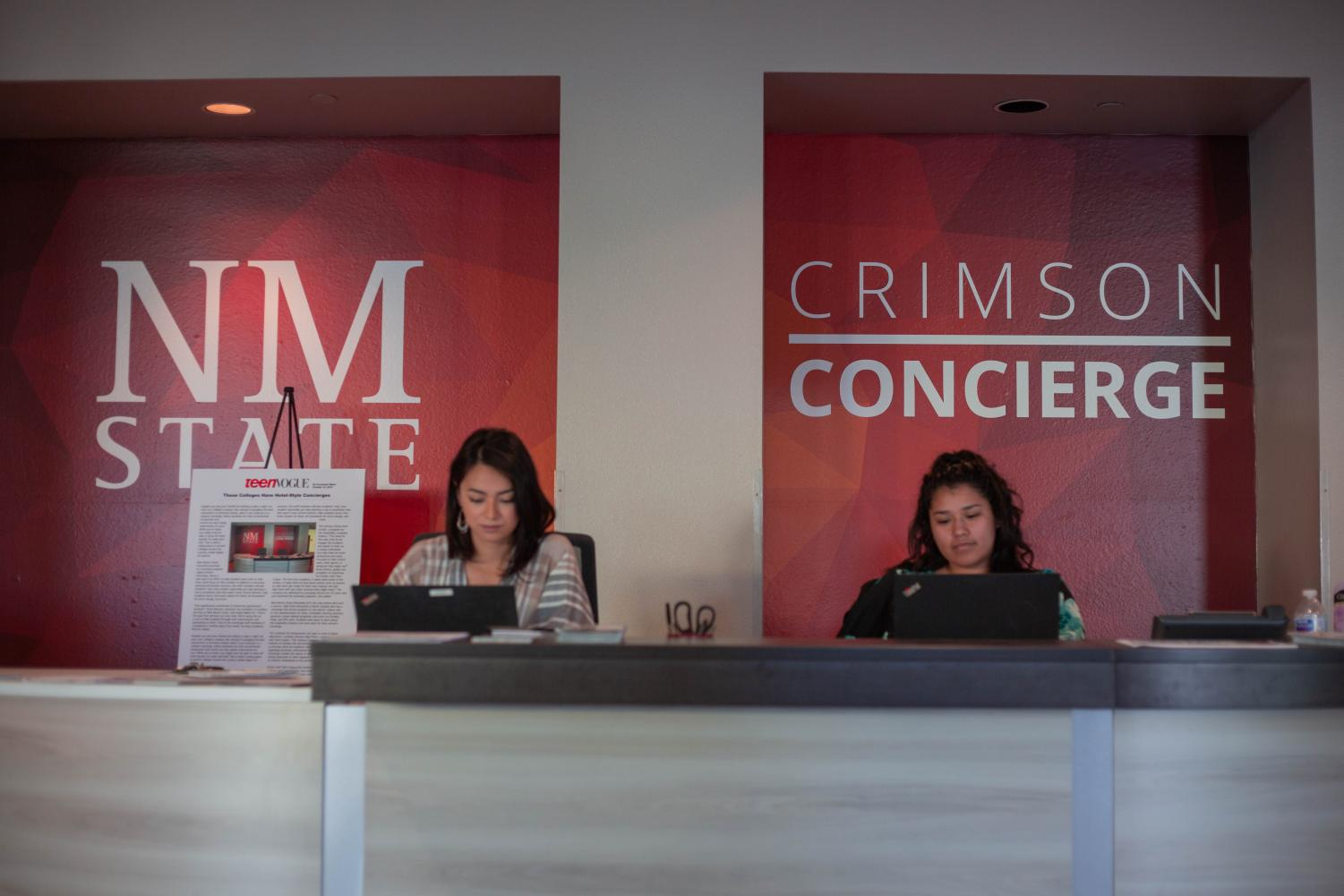 Crimson Concierge aims to help students by providing convenient services.