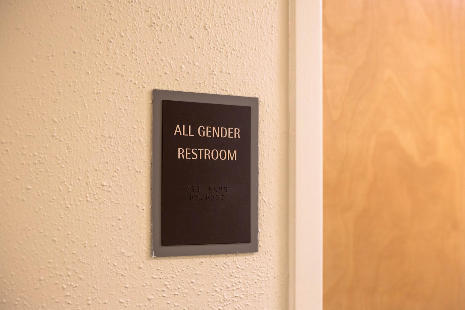 A research team in O'Donnell Hall is pushing for gender neutral bathrooms.
