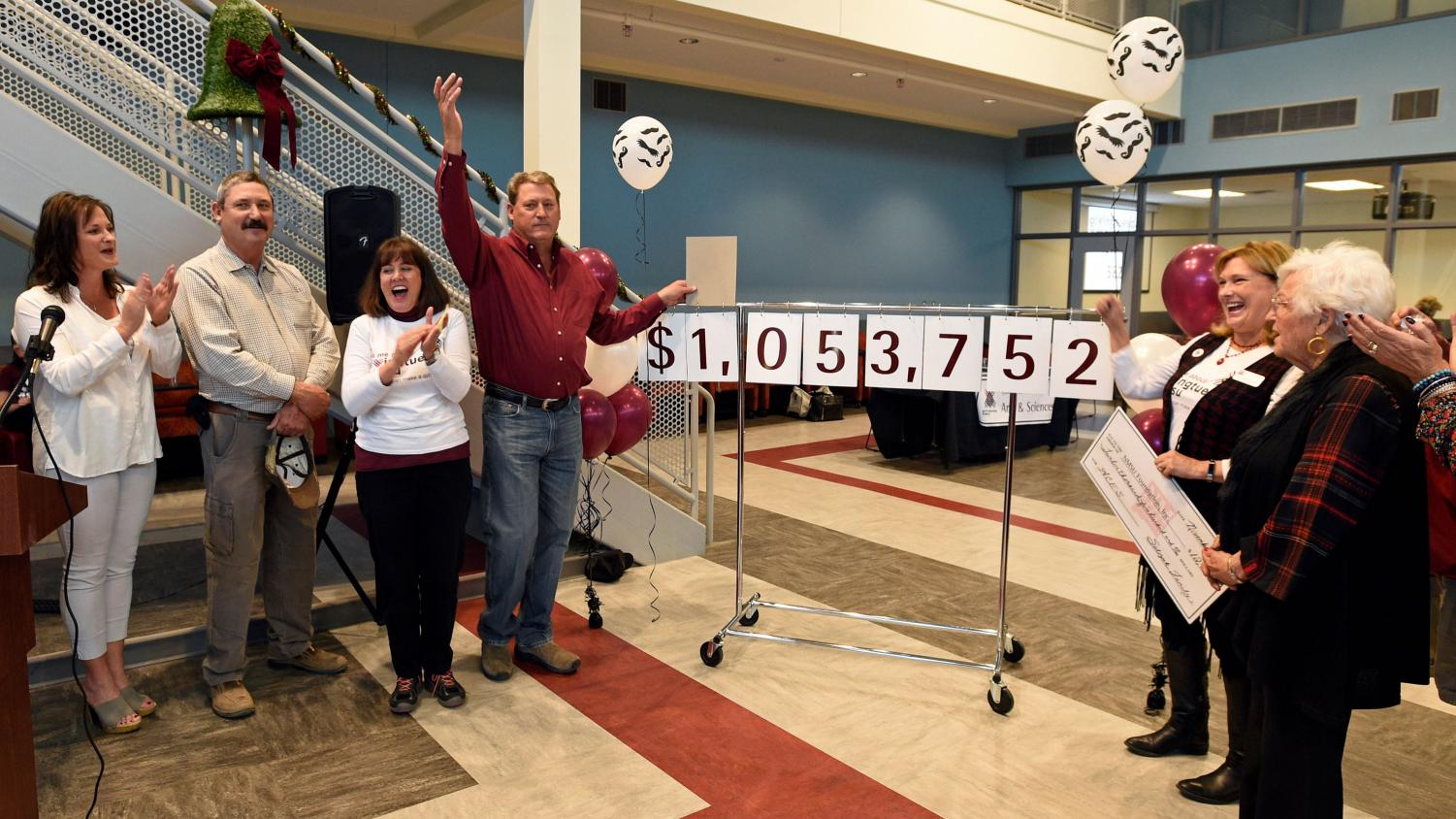 NMSU celebrated Giving Tuesday, Nov. 27. The university raised over $2 million in donations. (Photo courtesy NMSU)
