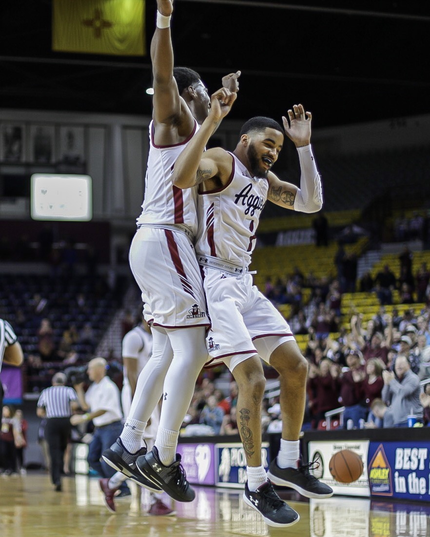 New Mexico State is back on track, winning back-to-back games against top conference opponents in GCU and CSUB.
