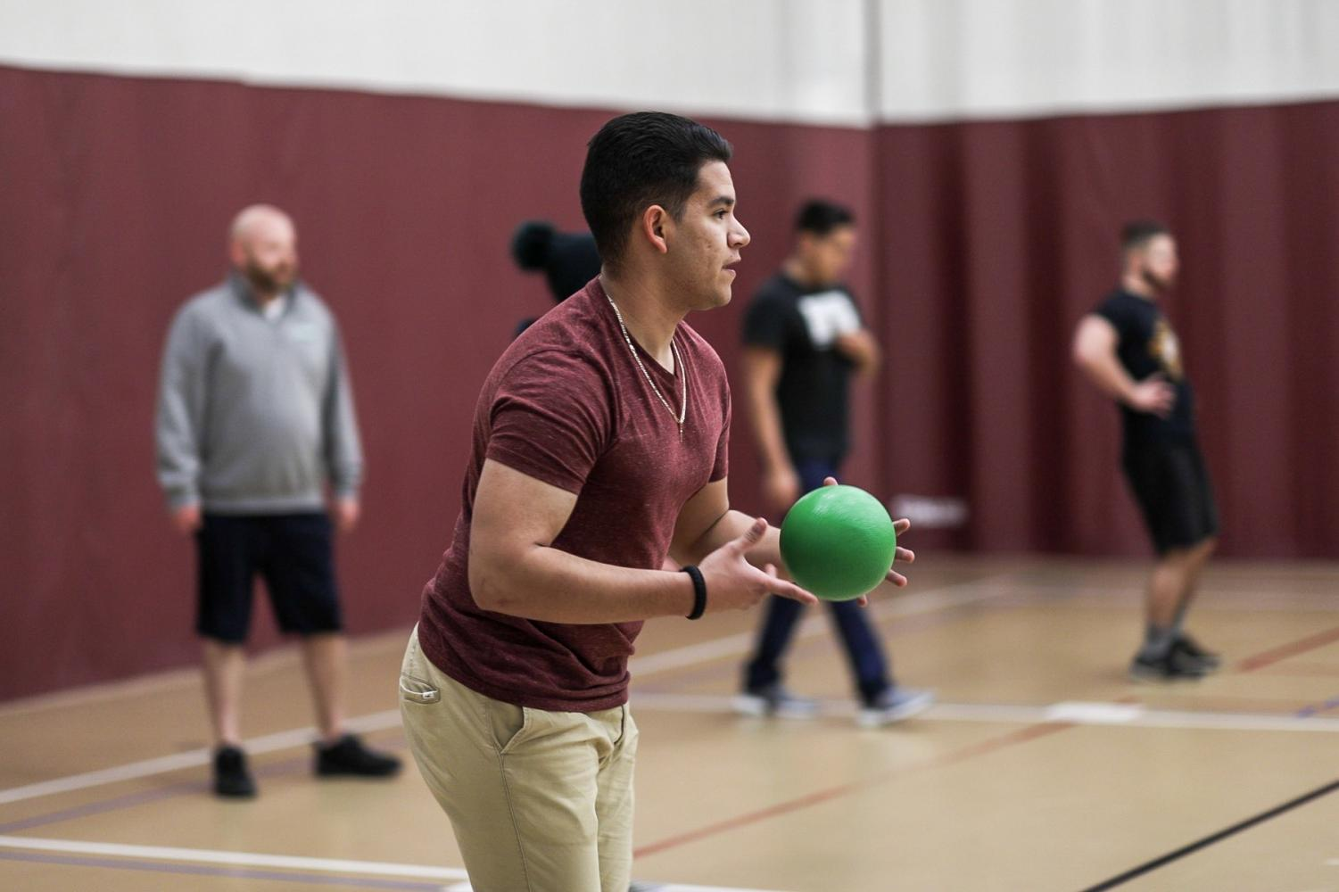 Aggie Stampede hosted a dodgeball tournament on January 22.