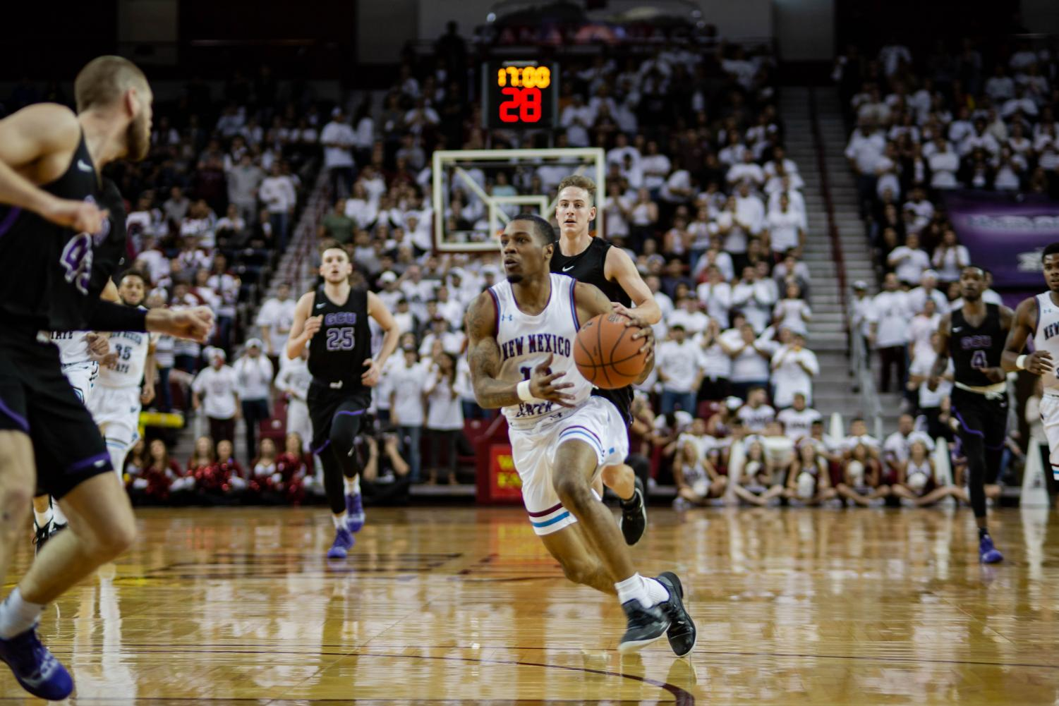 New Mexico State enters tonight's WAC Tournament Final with a 12-2 all-time record against Grand Canyon.