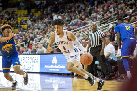 NMSU basketball takes on UMKC: Photo gallery