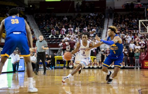 Imposing second half performance lifts Aggies to sixth straight win