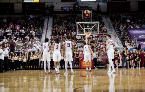 NM State holds off Utah Valley in first game of home stand