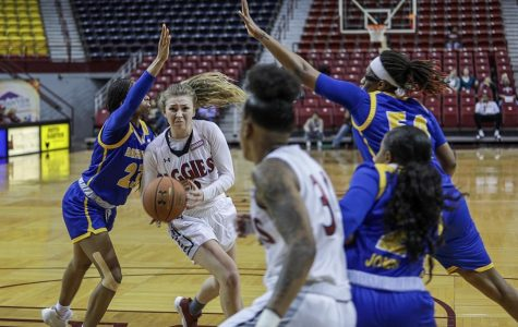 New Mexico State starts the back-half of conference play with a win over CSUB