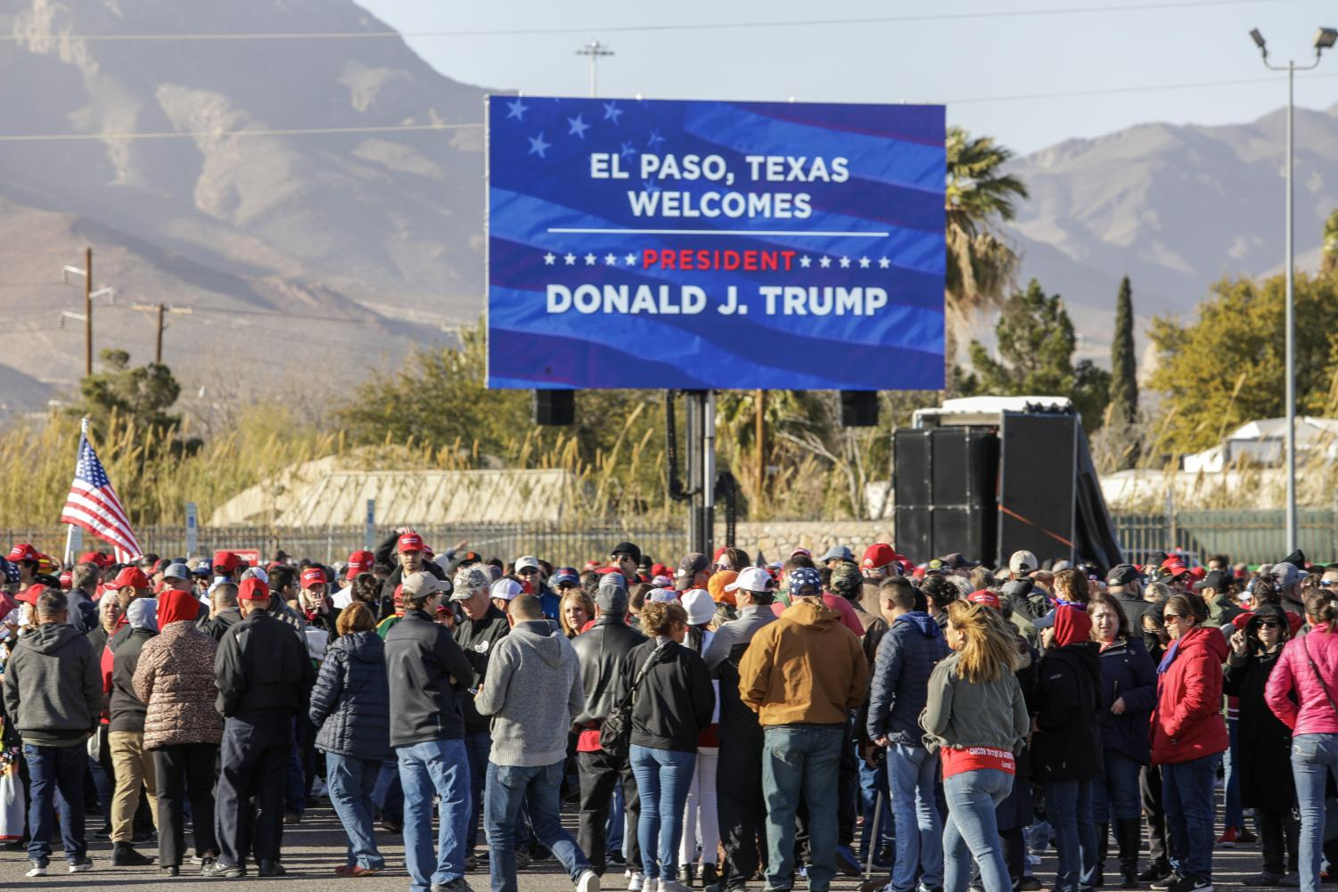 Donald Trump came to El Paso for a rally just days after the State of the Union where he claimed that El Paso was