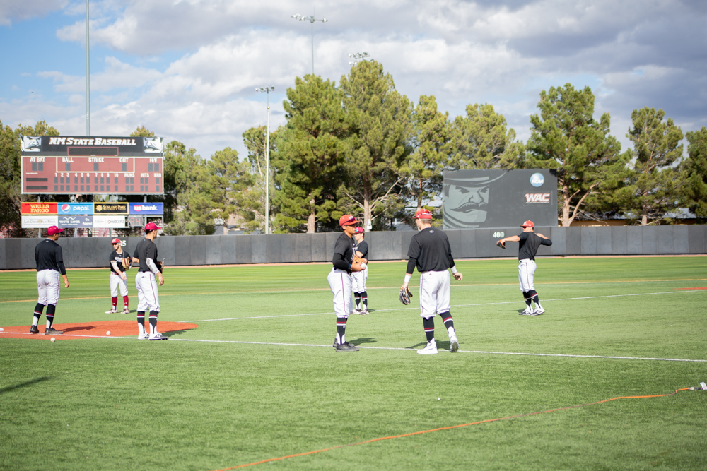 New Mexico State its kicks off baseball at home Feb. 15 against Texas Southern.