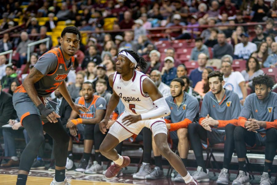 Senior guard Clayton Henry picks up his first WAC All-Defensive Team nod as he enters his final conference tournament as an Aggie.