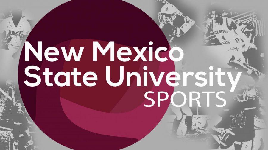 NMSU sports graphic