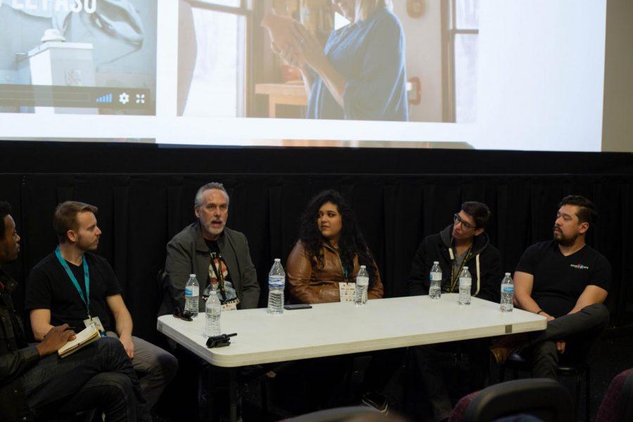 Folks+inside+the+%22From+Film+Student+to+Filmmaker%22+workshop.+